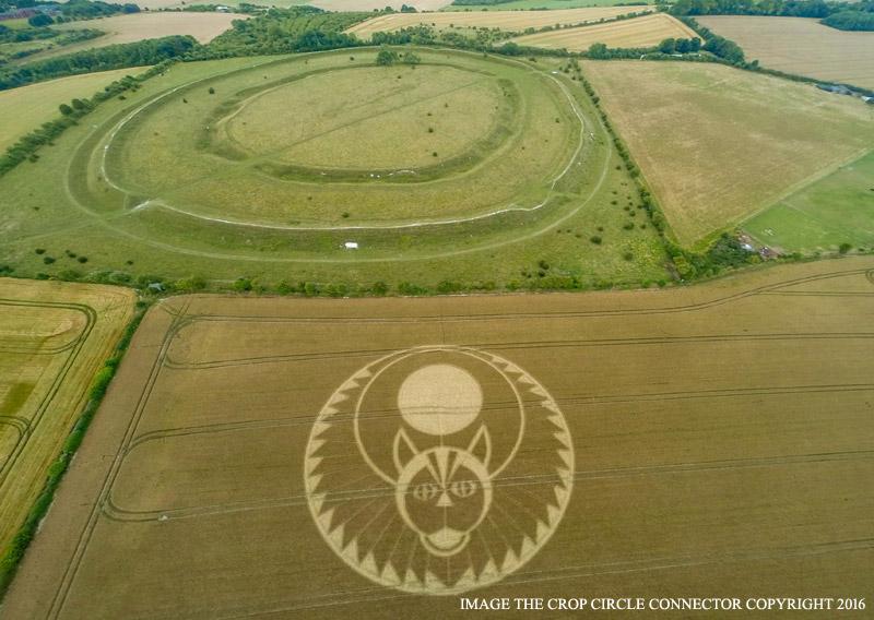 Figsbury Ring Crop Circle