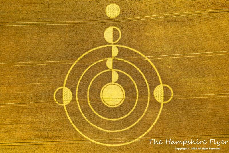hampshire16072020b Se reportan más Crop Circle en distintas partes del mundo este mes