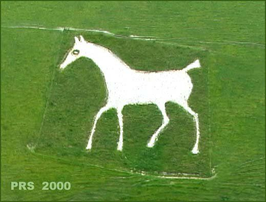The Alton Barnes White Horse An Approximately 200 Year Old Chalk